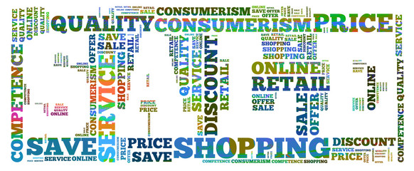 Sale word cloud
