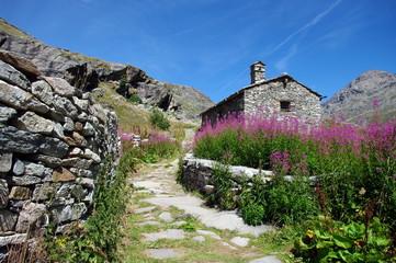haute maurienne-le hameau de l'ecot