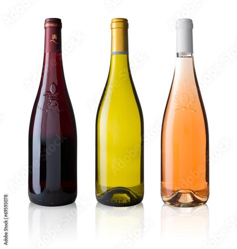 Bouteille de vin de Loire sans étiquette - 69593078