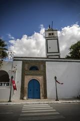 Puerta mezquita Túnez