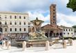 Santa Maria in Cosmedin basilica and Bocca della verita, Rome