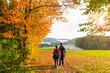 Wanderurlaub im Herbst