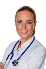 Freundliche  Ärztin