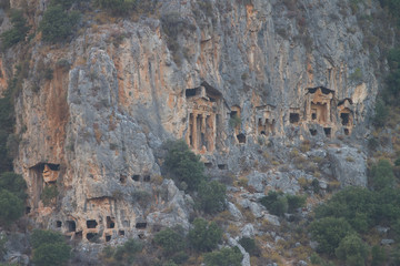 Kaunian rock tombs
