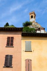 Brisighella, case e Torre dell'Orologio