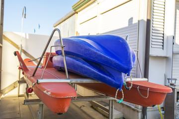 Rowboat for saving