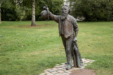 Brahmsdenkmal in Lübeck
