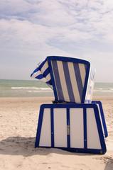 Strandkorb hoch