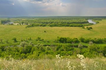 River Don in Divnogorie, Russia