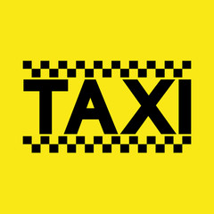 vector modern taxi service background