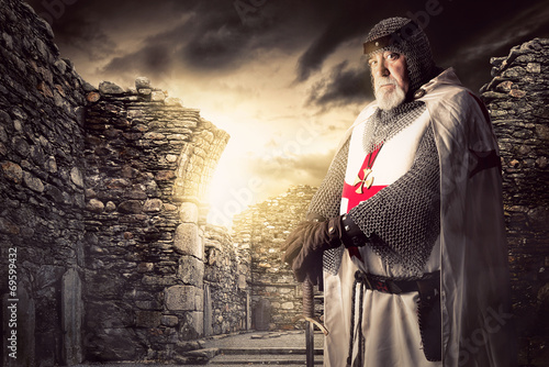 knight Templar Poster