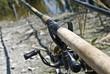 Feeder method fishing rods