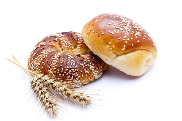 breads on white