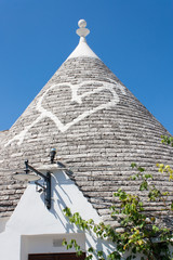typical buildings called Trulli of Alberobello