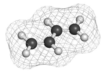 Butadiene (1,3-butadiene) synthetic rubber building block