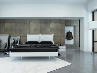Modernes Luxus Schlafzimmer mit Bett
