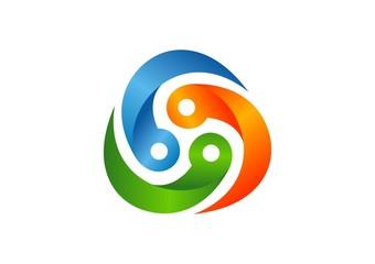 tech,logo,business,circle, swirl,success,media,abstract