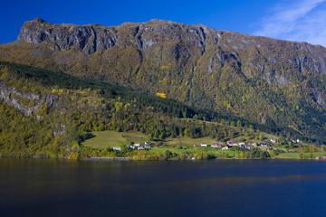 lake Granvin Vatne, Norway