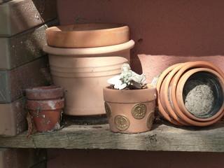 Tontöpfe und Übertöpfe mit Dekoration in Löhne bei Herford