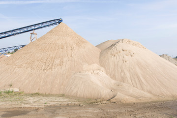 hałda piasku