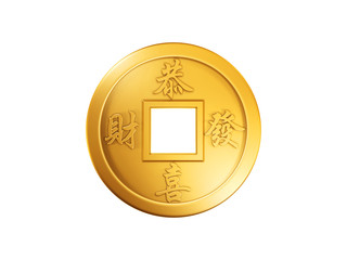 chinese gold coin