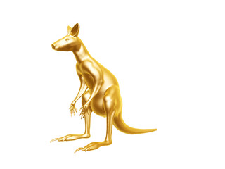 golden kangaroo