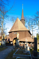 wooden church of Holy Virgin Mary, Broumov, Czech Republic