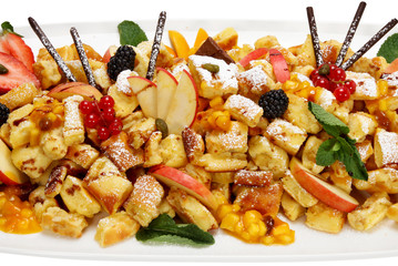 kaiserschmarrn traditionell incl. clipping path