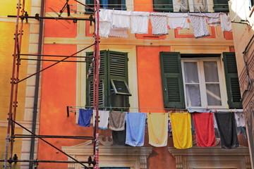 Waschtag und Haussanierung