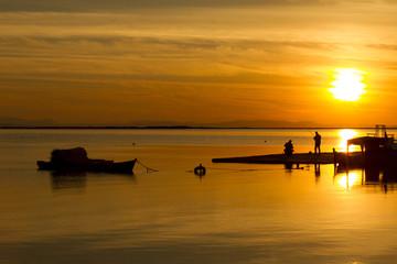 Sahil ve Günbatımı