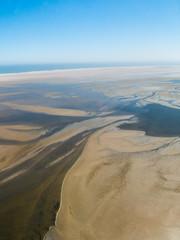 Foto aerea deserto del Namib