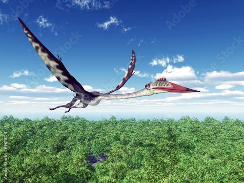 Fototapeta Pterosaur Quetzalcoatlus