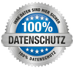 Datenschutz - Ihre Daten sind hier sicher - 100%