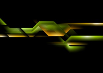 Abstract technology striped background