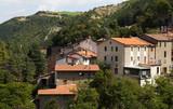 Paese di montagna in Toscana