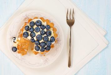 Сheesecake with fresh berries