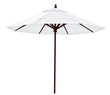 White beach umbrella - 69612475