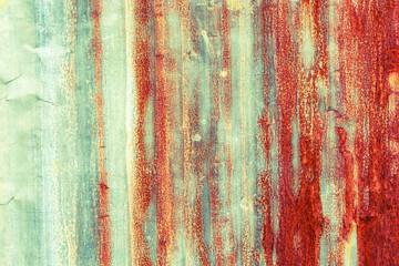 rusty corrugated iron metal texture
