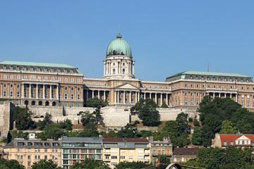 Royal castle Budapest landmark Hungary