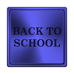 Back to school icon.