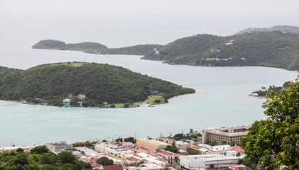 St Thomas Harbor from Hilltop