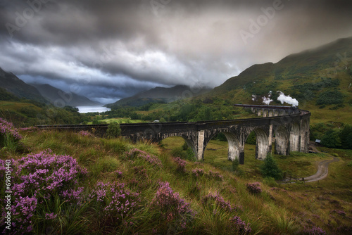Fotobehang Noord Europa Glenfinnan Viaduct, Scotland