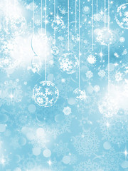 Blue Christmas Background. EPS 10