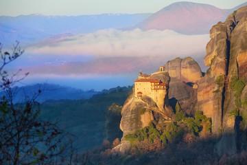 Distant view on St. Nicholas Anapausas Monastery