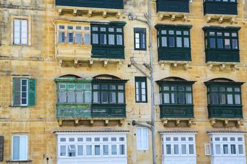 a terraced building in malta