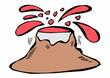 doodle volcano - 69616668