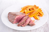 beef and french fries