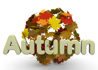 Autumn Season - 3D