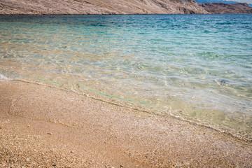croatian sea , Metajna Pag island