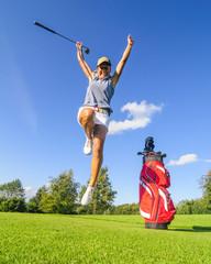Erfolg beim Golf